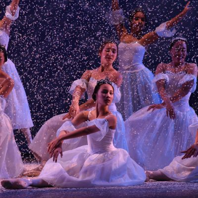 Dancers performing in The Nutcracker